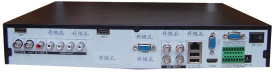 三、适合用户群 1、客户要录制设备的HDMI输出包括了视频、音频;2、需要2路HDMI、2路VGA视频高清录像的用户。 四、功能特点 1、嵌入式LINUX操作系统,16位真彩色图形化菜单操作界面。压缩算法升级到H.264 High Profile,先进的时空滤波技术使码流同比降低30%以上。 开机画面为四画面,支持一键放大单画面,支持开机默认上次设置的开机画面,如上次设置为单路画面,则开机后依然是单路画面。在单画面放大播放时,如不显示播放画面,只需返回四画面再次进入单画面即可。 2、支持4路实时1920*